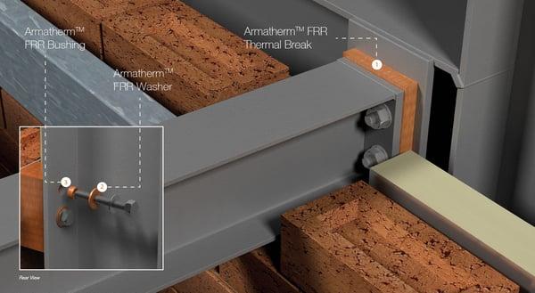 Armatherm Thermal Break Fixes Thermal Break Concrete Slab