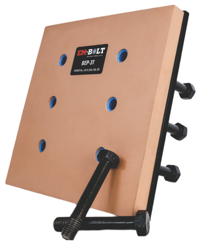 Concrete Embed Plate with Thermal Break Technology