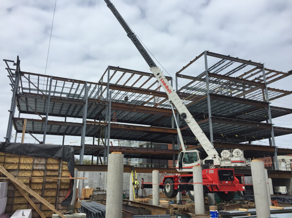 Weld Plate Structural Steel Project