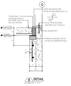 Thermal Break Concrete Slab System Step 4